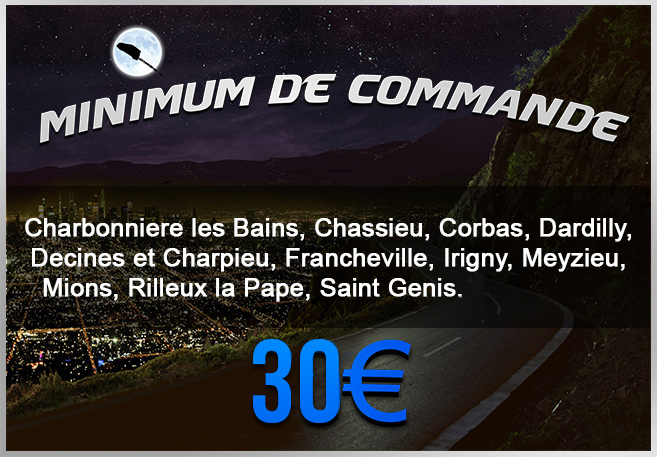 Minimum de commande zone 2
